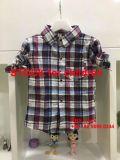 2.65 100명의 PCS 소년 형식 격자 무늬의 셔츠 중동 작풍을%s 가진 Dollor