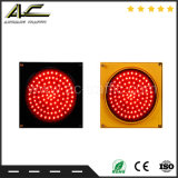 Lumière de clignotement approuvée de feux de signalisation de contrôle de voie avec la Croix-Rouge et la flèche verte