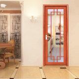 Porte en aluminium bon marché de tissu pour rideaux de modèle de salle de bains