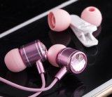 Auricular del en-Oído de la alta fidelidad de la alta calidad 3.5m m para el iPhone y Samsung