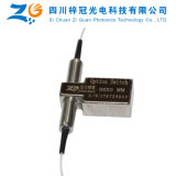 1064nm se doblan interruptor óptico mecánico de fibra del solo modo 2X2