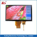 7.0 ``해결책 1024*600 높은 광도 TFT LCD 전시 화면 전기 용량 접촉