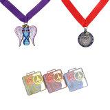 La maratona dell'oro 3D del metallo mette in mostra la medaglia