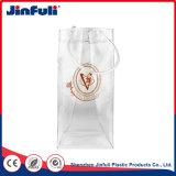Sacchetto del dispositivo di raffreddamento di vino della bottiglia del pacchetto di ghiaccio del PVC