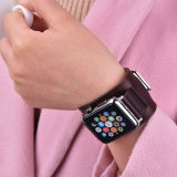 2pcs Set Crazy Horse Bracelet en cuir véritable pour Apple