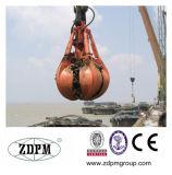 Elektromotor-hydraulisches orange Schalen-Zupacken mit Hochleistungs-