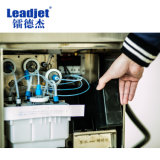 Inyección de tinta solvente ecológica Industrial Leadjet Impresora Fecha