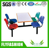 Tabela e cadeira da cantina da mobília de escola na venda (DT03H)