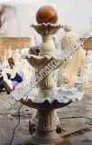 Fuente de piedra tallada de mármol tallado (sk-2441)