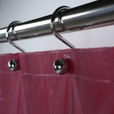 Mold Free Vinyl Shower Curtains with Heat Pressed Eyelets