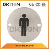 원형 남성 표시 표시 격판덮개를 적합한 DS015 화장실