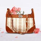 Borsa alla moda della signora Bag Fashion Real Leather del cuoio genuino del sacchetto di Tote