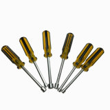Cacciavite dell'utensile manuale di tasto della noce Hex del cacciavite della chiave a bussola