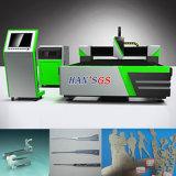 Machine de découpage inférieure de laser de fibre de plaque des prix de coupeur de laser de commande numérique par ordinateur
