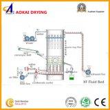 Máquina de secagem contínua de base fluida usada na indústria do ingrediente
