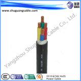 Электрический кабель питания с ПВХ изоляцией/пламенно