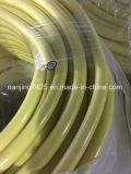 承認されるガスの転送CCCのための9.1*15.2mmの黄色いゴム製ホース
