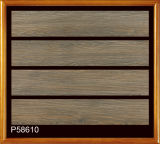 Hölzerne Planke-Porzellan-Fliese-Keramikziegel für den Fußboden dekorativ