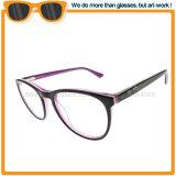 Heiße Art-betriebsbereite Azetat-Rahmen-Anzeigen-Gläser für Großverkauf