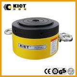 Cylindre hydraulique d'écrou de blocage inférieur à simple effet de hauteur d'acier inoxydable
