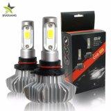 Оптовая торговля 9000лм Водонепроницаемый светодиодный индикатор фар H4, Суперяркий H4 Безвентиляторные Car LED лампы фар