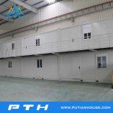 2 дом офиса контейнера полов 20FT полуфабрикат модульная