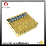 Parte inferior plana de la venta de Rol 1-1 de cigarrillo del tabaco del rectángulo de oro 70m m caliente del balanceo