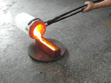 Fornalha de derretimento Integrated pequena do ouro da capacidade 2kg