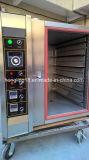 Gas-Konvektion-Ofen der Backen-Brot-Maschinen-5-Tray von der realen Fabrik