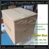 Casella del dispositivo di raffreddamento di prezzi di fabbrica di LLDPE 52L con colore cachi