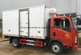 Sinotruk HOWO 5 Tonnen des Gefriermaschine-LKW-6 Rad-Kühlraum-LKW-