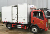 Sinotruk HOWO 5 тонн в морозильной камере погрузчика 6 Колеса холодильник погрузчика