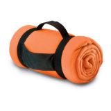 coperta portatile del panno morbido con la maniglia di nylon