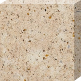 Pedra de cristal artificial projetada de quartzo da bancada material de superfície contínuo