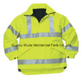 100% de poliéster Oxford PVC/PU cubra roupa Casaco Casaco Parka reflectora