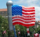 Giant Advertizing Balloon Helium, The Stars and Stripes Flying Flag Helium Balloon K7178