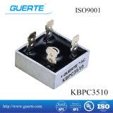 ISO9001를 가진 Single-Phase 브리지 정류기 Kbpc 35A 1000V