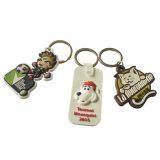 PVC molle Keychain/Keyholder/anello portachiavi (YB-HD-185) di marchio del regalo di promozione di Customed