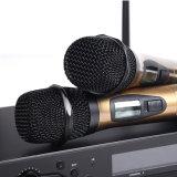 Handmikrofon-Systems-Karaoke Mic UHFgleichstrom-c$zwei drahtloses