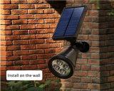 안뜰 갑판 야드 정원을%s 방수 LED 태양 스포트라이트