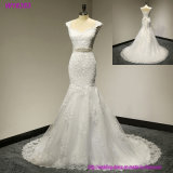 Платье венчания Mermaid втулки нового типа W18506 шикарное длиннее