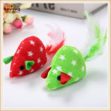 Cat Toys (KB3033)를 위한 Catnip를 가진 최고 Soft Colorful Small Mouse