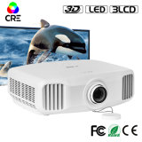 3D Android WiFi 1080P fill hp 3LCD Projector