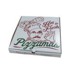 安い価格のPintedの段ボール紙ピザボックス
