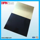 Strato di colore del doppio della superficie di metallo
