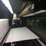 印刷の物質的なブランクPVC屈曲の旗の黒の背部の広告
