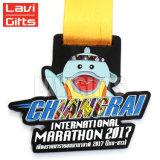 Draaibare Medaille van de Sport van het Metaal van de Douane van de goede Kwaliteit de Goedkope
