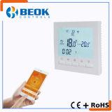Lcd-Bildschirm WiFi intelligenter Gas-Dampfkessel-Thermostat mit wöchentlicher programmierbarer Funktion