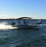 Liya 10pessoa rígida de patrulha militar Barcos insufláveis