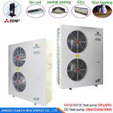 Camera che riscalda potere Cop4.32 12kw, 19kw, 35kw, 70kw, pompa termica di Save70% dello scaldacqua di 105kw 60deg c